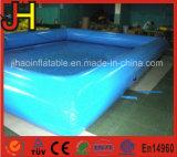 La piscina inflable grande para el agua juega la piscina inflable