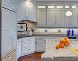 Armadio da cucina modulare classico di legno solido