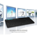 Teclado con la disposición multilingue