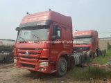 低価格販売のための使用された375HP Sinotruck HOWOのトラックヘッド