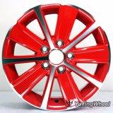 Roda de alumínio da liga da roda de carro da borda da roda roda de 14 polegadas