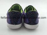 Chaussures en gros d'injection de toile d'enfants, usine de chaussures occasionnelles personnalisée de gosses (FFHH-092605)