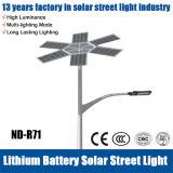 20W-140W indicatore luminoso di via esterno alimentato solare del giardino LED