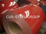 上塗を施してある鋼板Prepainted電流を通された鋼鉄コイルを着色しなさい