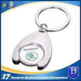 Liga feita sob encomenda Keychain do suporte da moeda para presentes da promoção