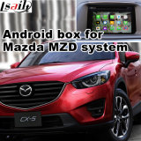 Interface de navigation GPS Android pour voiture pour Mazda Cx-5, navigation tactile de mise à niveau, WiFi, Bt, Mirrorlink, HD 1080P, Google Map, Play Store