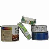 Etiqueta autoadhesiva auta-adhesivo de alta calidad de la venta caliente para el conjunto del champú