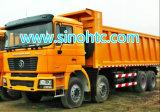 SHACMAN U 모양 8X4 팁 주는 사람 트럭