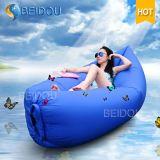 base preguiçosa do sofá do ar de Laybag do saco do feijão inflável do sono 1-Mouth