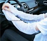 UV спорт перчаток Sunblock предохранения управляя рукояткой Sleeves шнурок