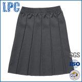 Pannello esterno classico della piega delle ragazze dell'uniforme scolastico con elastico