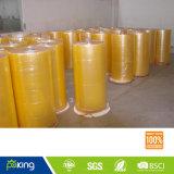 Rullo enorme BOPP del nastro adesivo giallastro dell'imballaggio di buona qualità