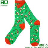 2017 Rotwild-Muster-kundenspezifische Weihnachtskleid-Socken
