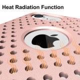 Caixa protetora híbrida do telefone de pilha de Kickstand do furo novo da irradiacão