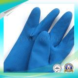 Перчатки латекса анти- работы деятельности кислотных голубоев водоустойчивые