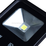 La lámpara de inundación de aluminio de fundición a presión a troquel de las lámparas 10W del bulbo IP67 enciende AC85-265V Graden que enciende la luz al aire libre