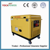 piccola produzione di energia elettrica insonorizzata portatile del generatore del motore diesel 10kVA