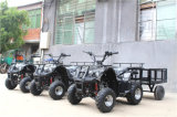 Motor eléctrico ATV de la granja grande roja negra del almacenaje