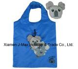 Sacchetto ecologico di acquisto pieghevole con il sacchetto 3D, lo stile animale del Koala, i sacchetti riutilizzabili, leggeri, di drogheria e pratico, promozione, accessori