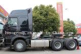 고품질 HOWO T7h 6X4 엔진 트랙터 트럭