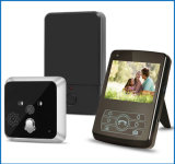 Teléfono de la puerta del vídeo de color de 7 pulgadas/intercomunicador sin hilos de WiFi
