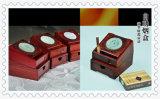 Cadre automatique de porte-cigarettes de bois de rose africain