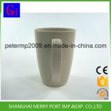 Taza de café resistente da alta temperatura biodegradable con la maneta