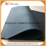 Couvre-tapis en caoutchouc de plancher de gymnastique certifiés par GV pour l'endroit lourd