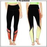 """Calças coloridas """"sexy"""" da ioga do esporte Running à moda elevado da elasticidade"""