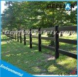 Vinylprivatleben-Garten-Zaun mit Spitzengitter