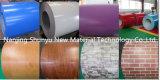 Fabricación de acero galvanizada prepintada de las hojas de /Roofing de la bobina de la impresión