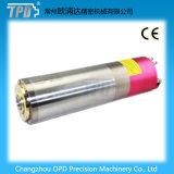 Eje de rotación del Atc de la refrigeración por agua del diámetro 5.5kw de Tpd 120m m para el ranurador del CNC