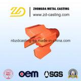Pezzi meccanici elettrici di Customed dal pezzo fuso d'acciaio