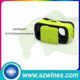video Realität-Gläser Google Vr des Kopfhörer-3D Kasten 3.0