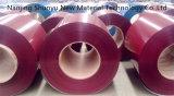 Il TUFFO ha galvanizzato la bobina d'acciaio, bobine galvanizzate preverniciate dell'acciaio ricoperte colore