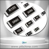 Resistor de película metálica de 2512 SMD, resistor de película del carbón