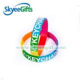 Pulseira de silicone de alta qualidade Cmyk impressa