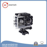 Vídeo subaquático cheio do esporte 30m das câmaras de vídeo da câmara digital da ação do esporte DV de HD 1080 2inch LCD