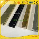 Profili di alluminio della mobilia variopinta per la decorazione dell'armadio da cucina