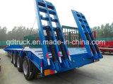 80 طن ثقيلة - واجب رسم منخفضة سرير [سمي] شاحنة مقطورة