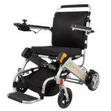 Fauteuil roulant handicapé portatif d'énergie électrique de pliage facile pour la personne agée
