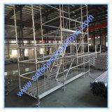 承認された安全なSGSは構築のための足場に電流を通した