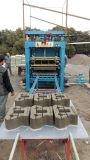 Máquina concreta da planta do Paver do cimento da operação Qt5-20 manual