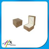 Großhandelsc$matt-lack Walnuss-Holz lagerte Schmucksache-Uhr-Geschenk-Verpackungs-Kasten schwenkbar