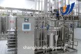 Lait UHT et ligne pasteurisée de production laitière
