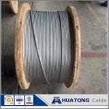Faisceau galvanisé plongé chaud de fil d'acier pour ACSR, câble de haubanage, fil de séjour