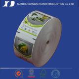 Roulis de papier thermosensible pour la machine de caisse comptable