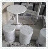De witte Marmeren Badkuip van Bianco Carrara en de Marmeren Producten van het Bad