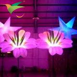 Iflt-17021313カスタム膨脹可能な段階の照明装飾の膨脹可能な花