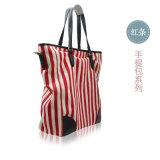 Disegni stampati verticali dei sacchetti di spalla per le collezioni di lusso delle donne